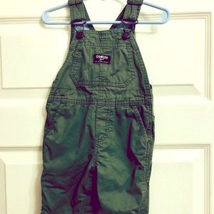 OshKosh Forest Green Overalls